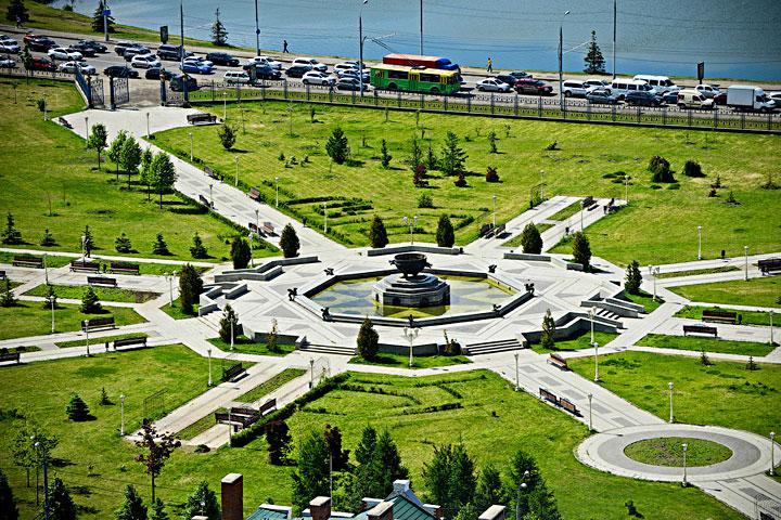 бассейн в парке 500 летия чебоксары